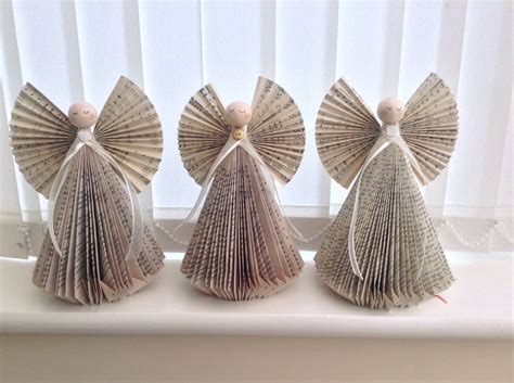 Folded Paper Ornaments - folded book book crafts livres