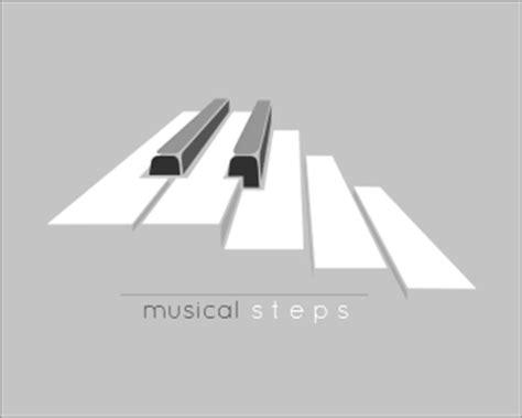 design a logo steps musical steps designed by piritter brandcrowd
