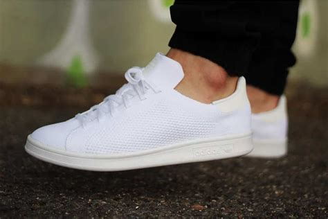 adidas originals stan smith primeknit triple whiteblack