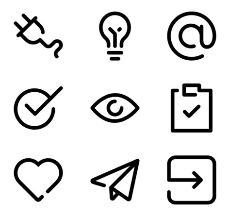Outline Icon by Outline Icons 7 471 Free Vector Icons