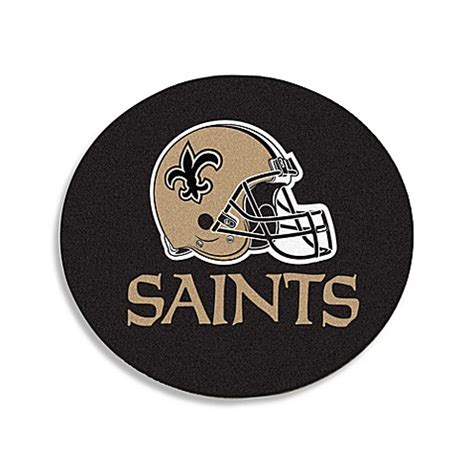 saints rug buy nfl team rug in new orleans saints from bed bath beyond