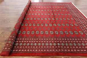 2x3 Kilim Rug 9 X 12 Oriental Red Bokhara Rug H6577