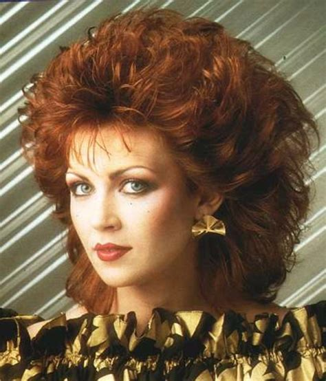 1980s the period of s rock hairstyles boom