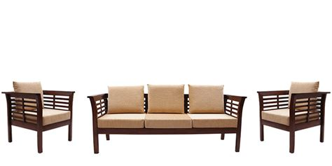 Where Can I Buy Dining Room Chairs buy mariana teak wood sofa set 3 seater 1 seater 1