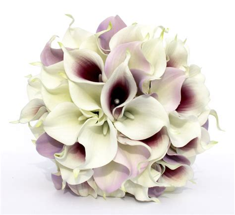 Wedding Bouquets Using Calla Lilies by Wedding Bouquet Purple Calla Wedding Bouquet Real To