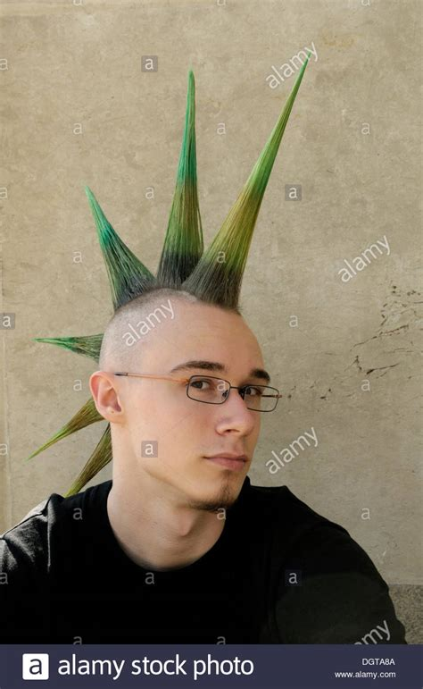 Mohican Hairstyle by With A Hairstyle Mohawk Mohican Wave