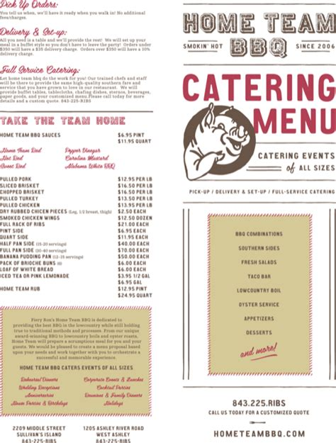 menu design proposal download catering proposal templates for free formtemplate