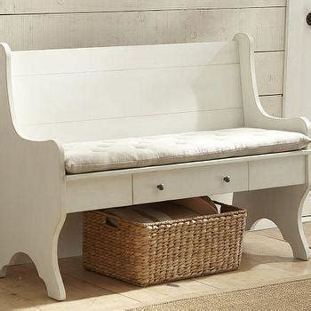pottery barn shoe bench brady 4 piece open entryway suite pottery barn