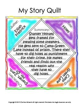 story quilt book report story elements quilt book report by charlene schwartz tpt