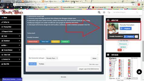 cara membuat widget instagram di blog cara membuat widget profil google keren di blog renaldy