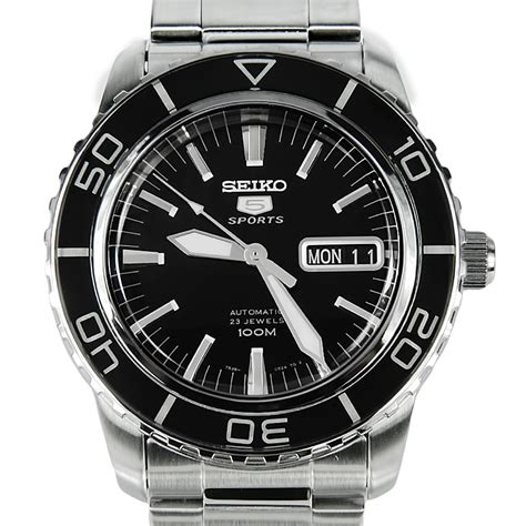 Seiko 5 Sports Mens Automatic Watch SNZH55K1 SNZH55