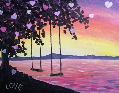 paint nite island events paint nite swinging into