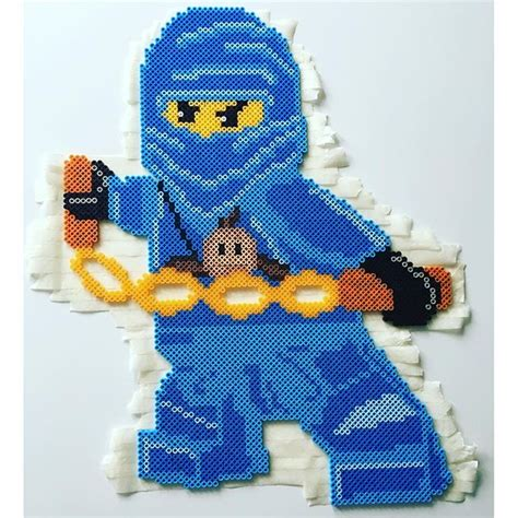 ninjago pattern lego ninjago nabbi perler beads by mammaparlar children