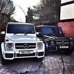 Mercedes G Class White Yin And Yang Mercedes G Class The Facts Are Simply Black