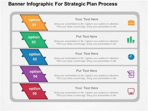 powerpoint strategic plan template it strategic plan template powerpoint banner infographic
