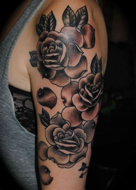 grey wash tattoo designs floral half sleeve tattoos for half sleeve tattoos