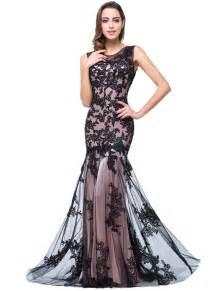 elegant sleeveless slim fit evening dress oasap com