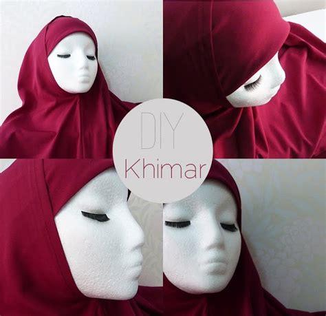 Tutorial Khimar 17 Best Images About Diy Jilbab On