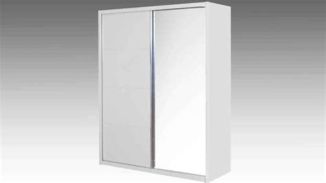White Sliding Mirror Wardrobe by Milan High Gloss White 2 Door Mirror Sliding