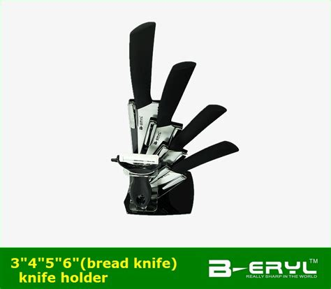 Set Of 4 Knives Peeler beryl 6pcs set 3 quot 4 quot 5 quot 6 quot bread knife peeler knife