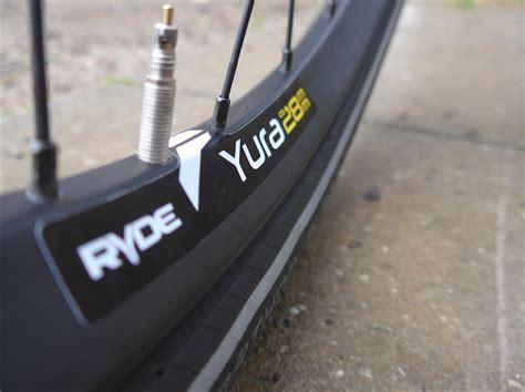 fahrrad felge maulweite test ryde yura breite felgen f 252 rs trekkingrad