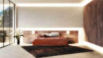 schlafzimmer beleuchtung indirekte beleuchtung schlafzimmer schwarze akzentwand