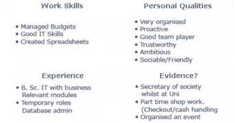 resume qualities best resume exle