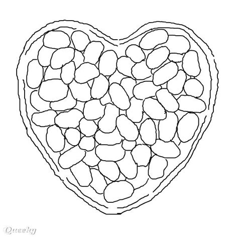 jelly beans free colouring pages