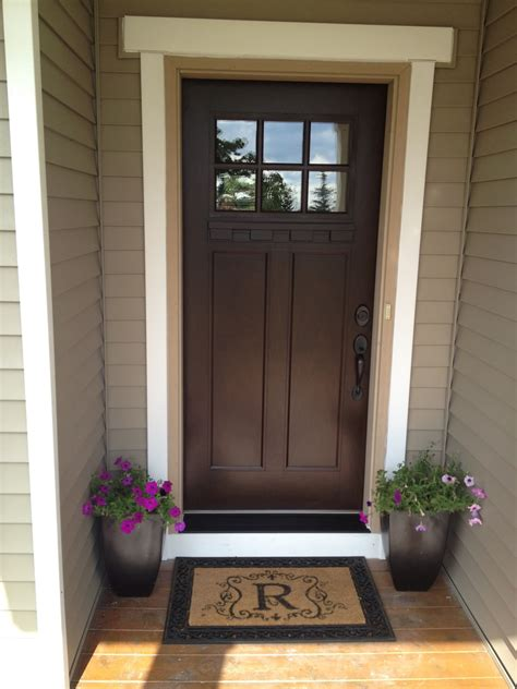 exterior door colors we can paint our front door chestnut and then add a new