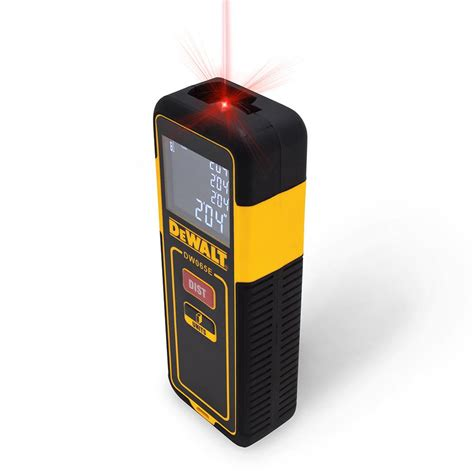 dewalt 65 ft laser distance measurer dw065e the home depot
