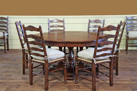 rustic round back upholstered chair for dining room ladder back dining chairs with rush seats best chair