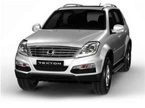 mahindra new car price 2014 mahindra ssangyong rexton