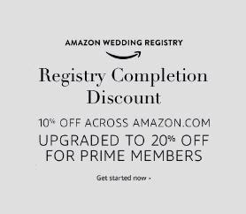 Wedding Registry Discount by 20 Wedding Registry Completion Discount For