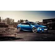 BMW M3 Blauen Auto Seitenansicht Hintergrundbilder  1920x1080