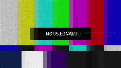 Bedroom Tv No Signal Tv Color Bars Stock Footage