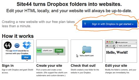 host a blog on dropbox with calepin how to host a website on dropbox crypt life