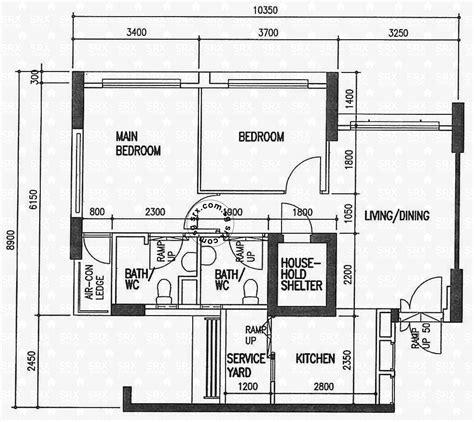 floor plan hdb jalan batu hdb details srx property