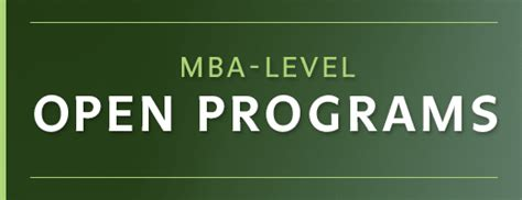 Mba Applications Open by Nyenrode Launches Open Programs On Mba Level