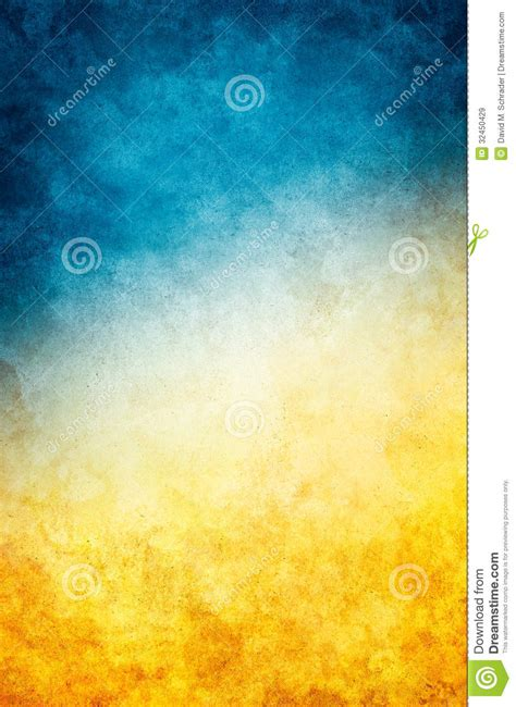 Yellow Blue Grunge Stock Image Image Of Bright Brown