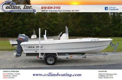 sea pro boat dealers in nc sea pro 170cc boats for sale in north carolina