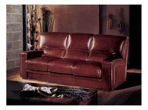 Oregon Sofa Bed Sofa Bed Made Of Leather Handmade Finishings Idfdesign
