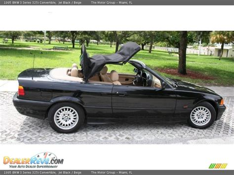 1995 Bmw 325i Convertible by 1995 Bmw 3 Series 325i Convertible Jet Black Beige Photo