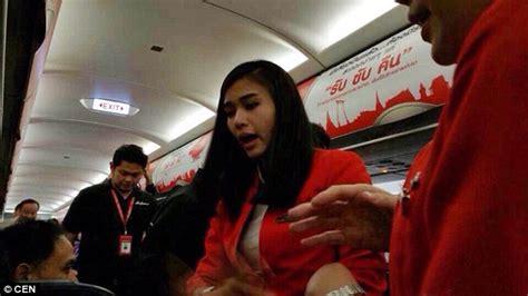 airasia indonesia office video shows thai airasia flight passenger making threat to