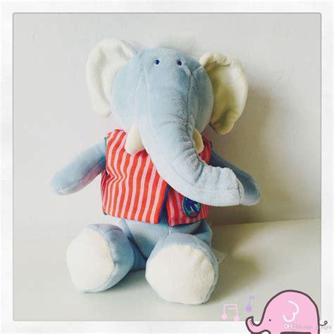 elephant comforter toy 2018 comforter elephant plush toy with t shirt plush