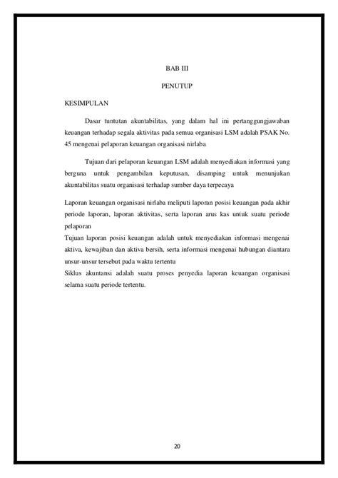 Akuntansi Sektor Publik Organisasi Non Laba Moindro Renyowijoyo makalah akuntansi sektor publik akuntansi lsm partai politik kel
