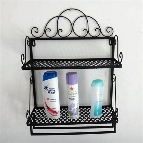 wrought iron floor corner shelf bathroom wall shelving