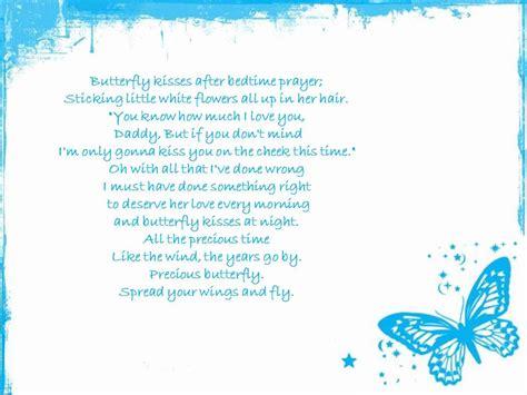 and butterfly lyrics bob carlisle butterfly kisses lyrics
