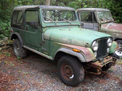 sell used 1979 jeep cj7 304 v8 quadra trac 34k orig