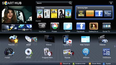 samsung smart tv samsung apps
