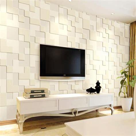wallpaper 3d living room 10m modern 3d mural stereoscopic mosaic wallpaper for